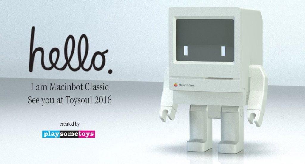 Macinbot Classicフィギュア