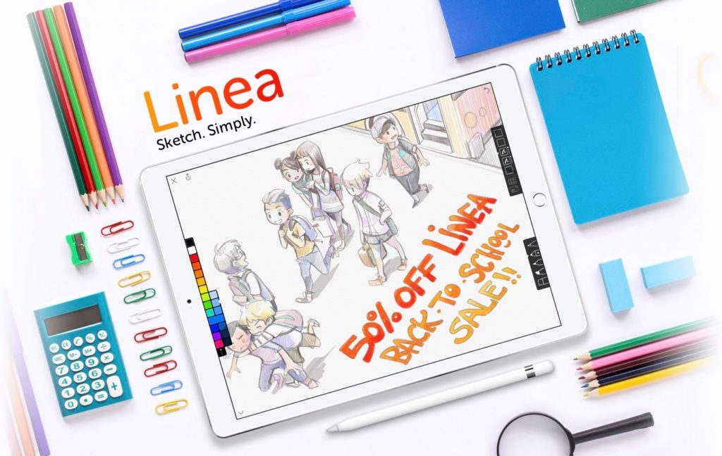 Linea app Back to Schoolセール