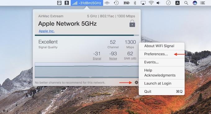 Wi-Fi Signalアプリのセットアップ