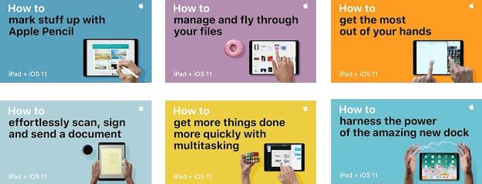 iOS 11とiPadの新機能