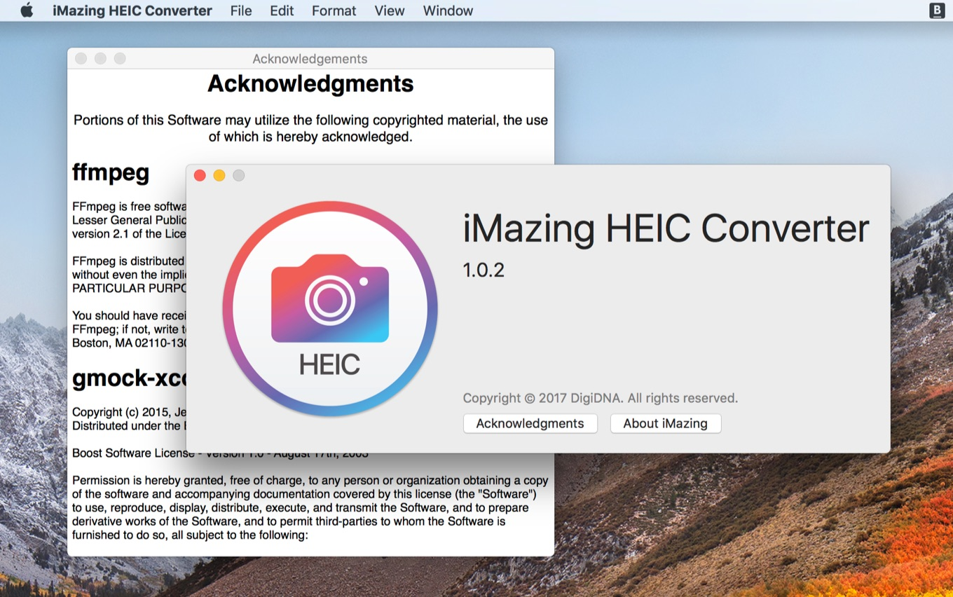 About iMazing HEIC Converter