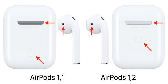 AirPods 1,1と1,2の違い