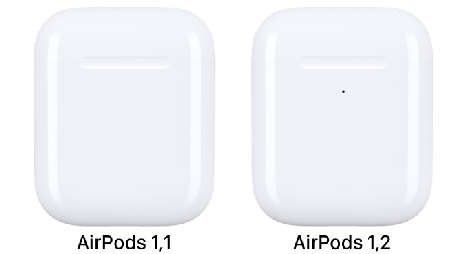 AirPods 1,1と1,2