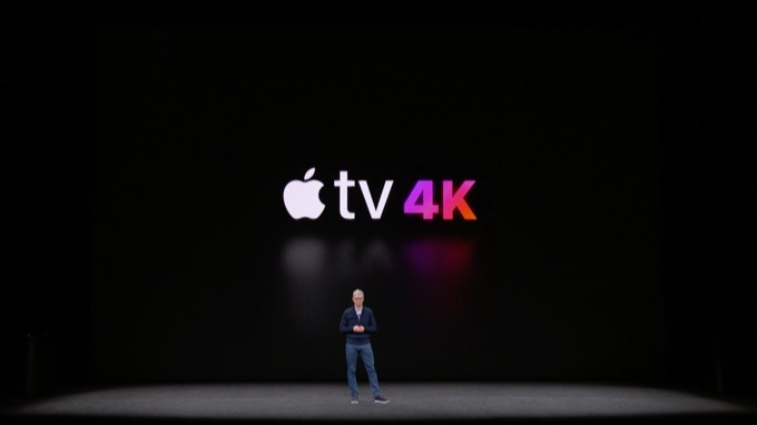 Apple TV 4Kの発表