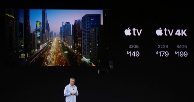 Apple TV 4Kの価格