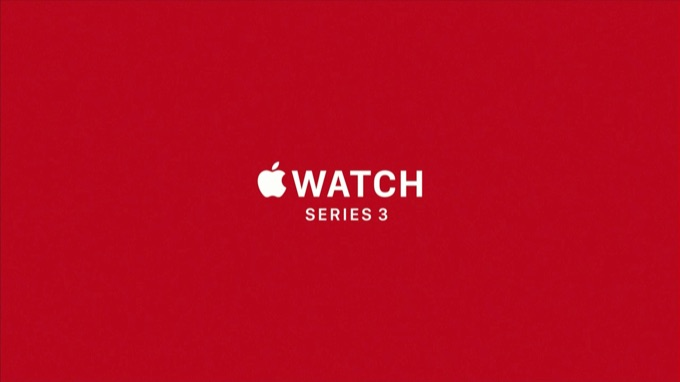 Apple Watch Series 3 Announce
