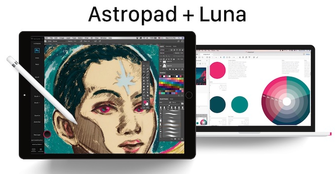 Using Astropad with Luna Display