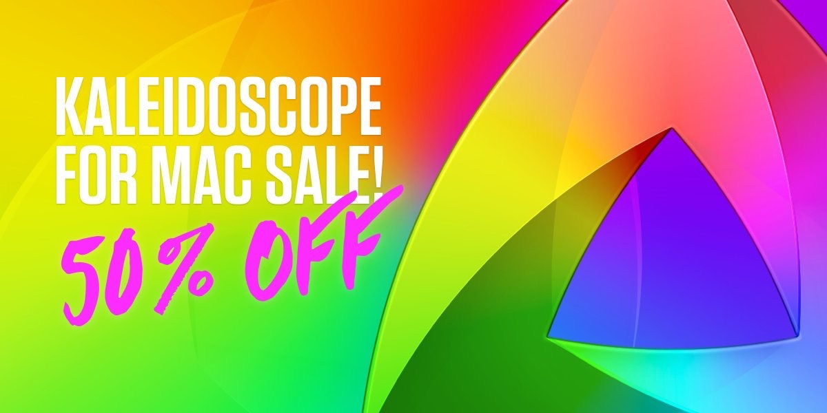 Kaleidoscope for Macの50%OFFセール