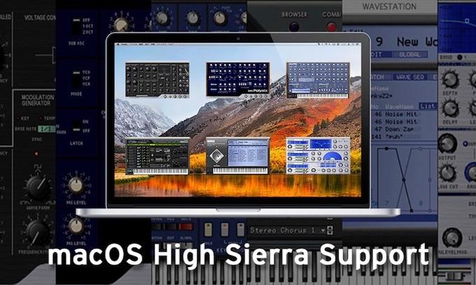 KORGがmacOS 10.13 High Sierraをサポート