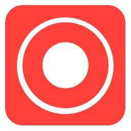iOS 11の画面収録のアイコン