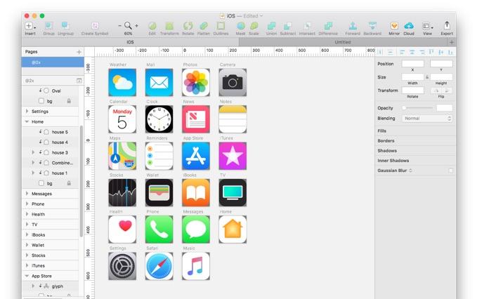 iOS 11 32icons