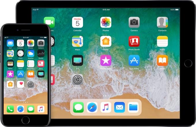 iOS 11リリース