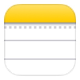 iOSのメモアプリアイコン