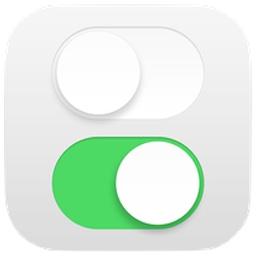 iOSのコントロールセンターのアイコン
