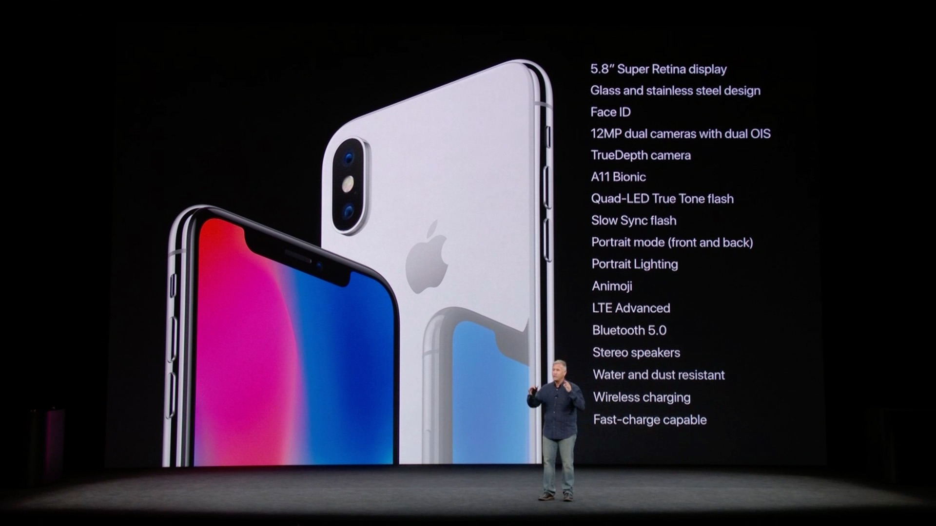 iPhone Xで採用される新機能