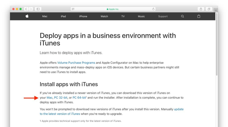 iTunes v12.6.3