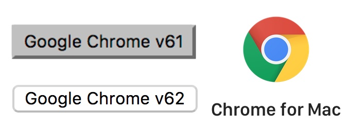 Google Chrome v61 for Macで発生していたボタンの不具合