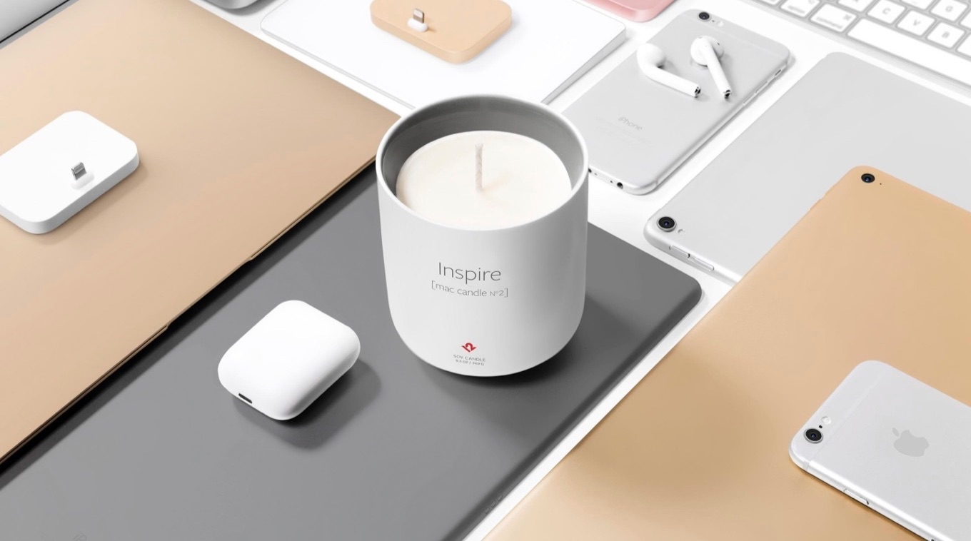 Inspire New Mac Candle