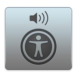 VoiceOverのアイコン