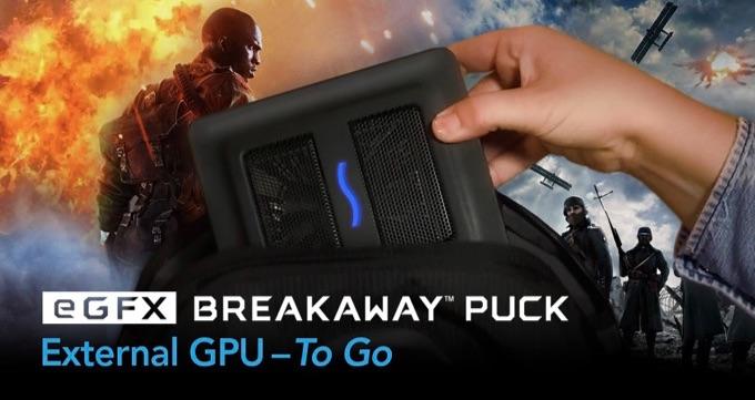 eGFX Breakaway Puck Radeon RX 560のヘッダー