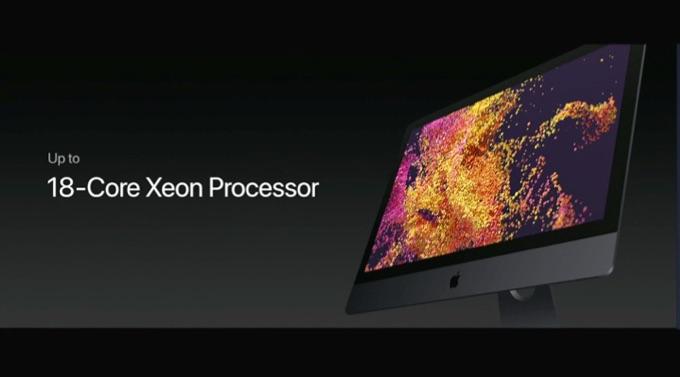最大18CoreのIntel Xeonを搭載したiMacPro