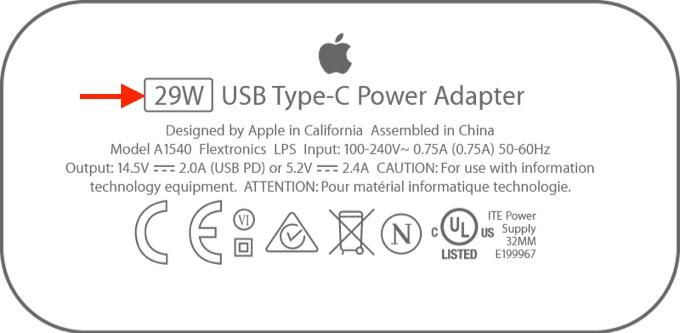 iPhone Xが高速充電出来るアダプタ