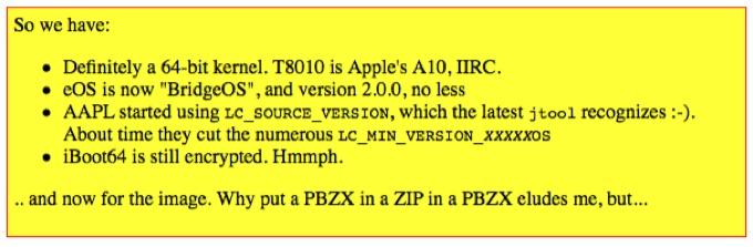 AppleのBridgeOSとiMac ProのA10チップセット