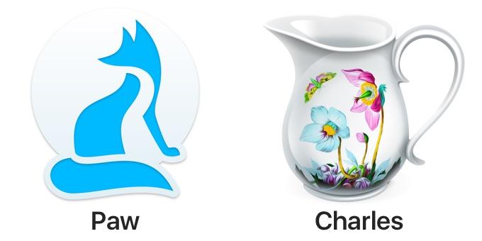 Mac用HTTPクライアントPawとCharles