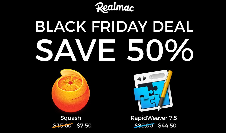 Realmacソフトウェアのブラックフライデーセール 2017