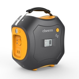 Cheero Ac Dc Usb出力を搭載したバッテリー容量500whのポータブル電源 Energy Carry 500wh を発売 pl Ch
