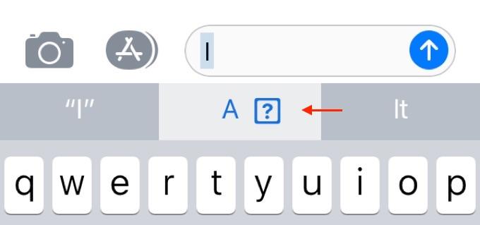 iOS 11の「i」文字バグ