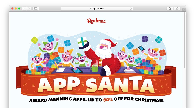 2017年12月19日から開催されるApp Santaキャンペーン