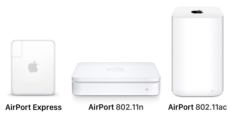 AirMac 802.11acと802.11n