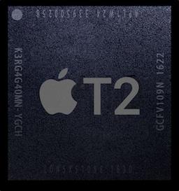 Apple T2のロゴ