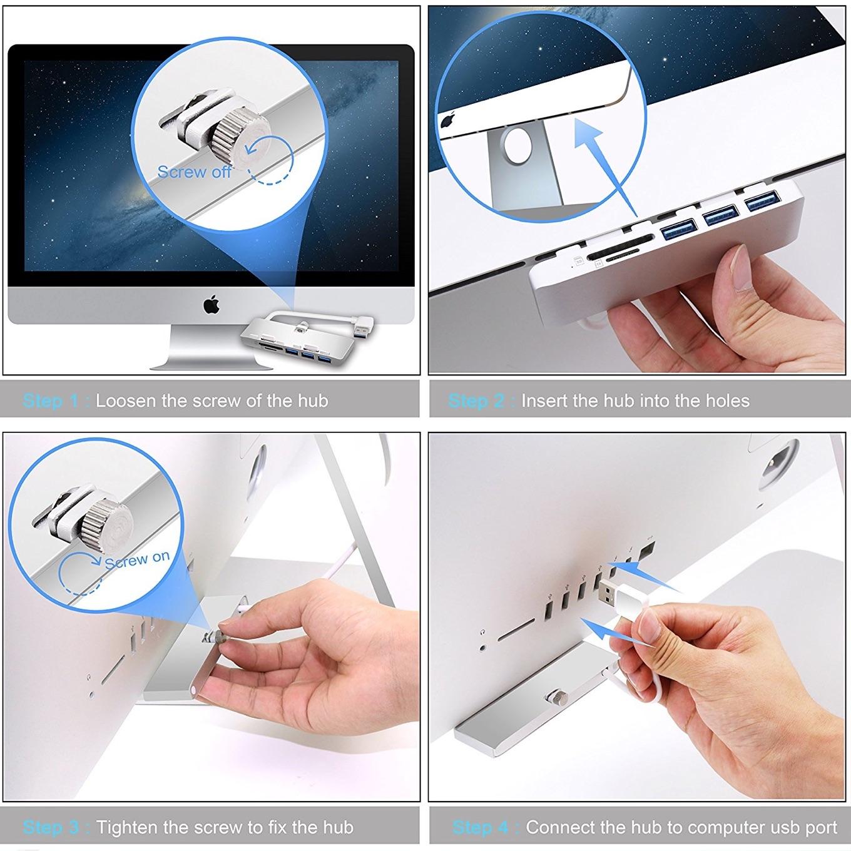 CateckのiMac用ハブ