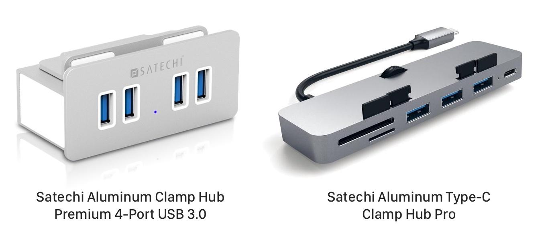 Satechi Aluminum Type-C Clump Hub Pro