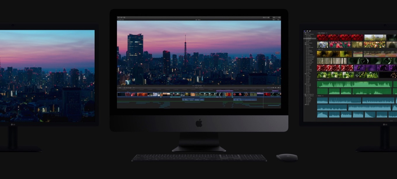 3台の5K iMac Pro 2017