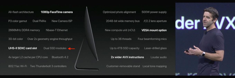 iMac ProのDual SSD