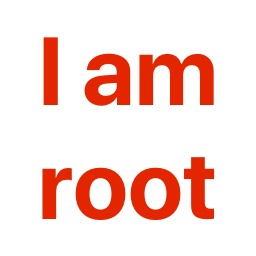 iamroot logo