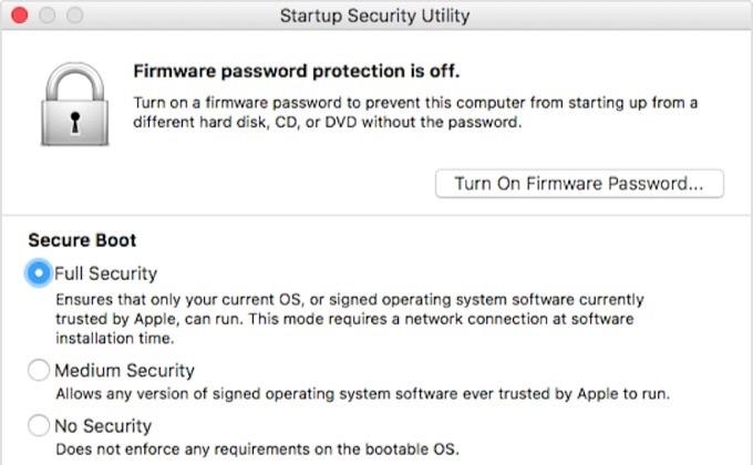 Secure Bootのセキュリティ機能