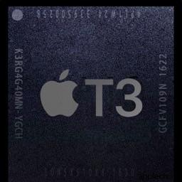 Apple T3のロゴ
