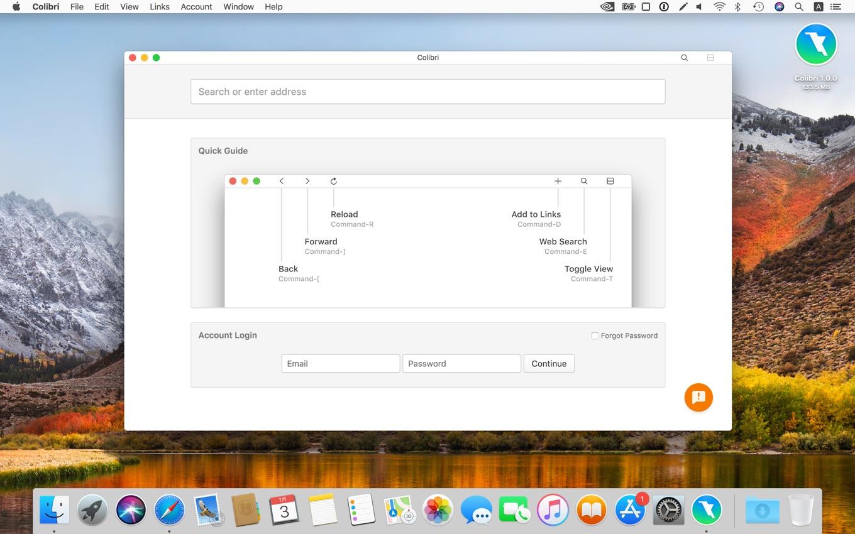 Colibri for macOS v1.0