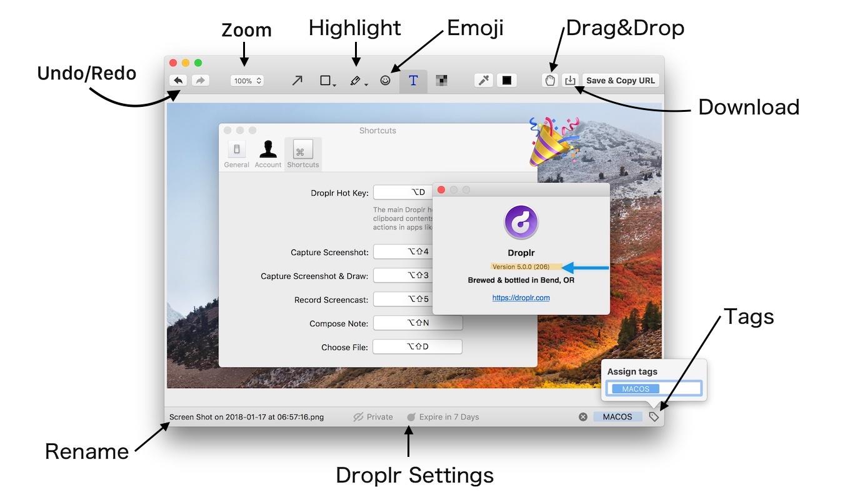 Droplr for Mac v5の新機能紹介