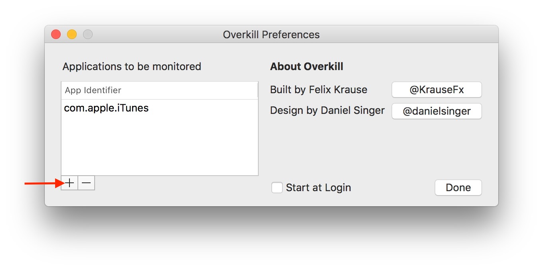 Macのアプリの起動を抑制してくれるOverkillアプリの使い方