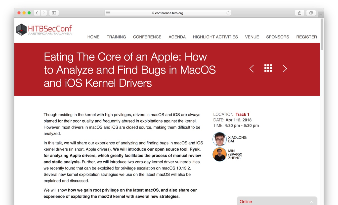 Eating The Core of an Apple: How to Analyze and Find Bugs in MacOS and iOS Kernel Drivers