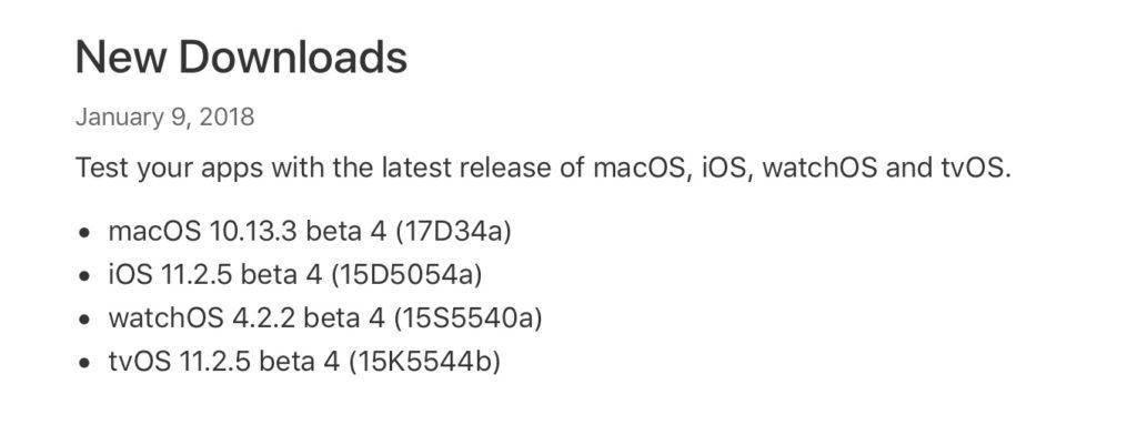 macOS 10.13.3 beta 4 (17D34a)