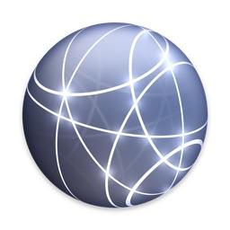 macOSのネットワークの設定アイコン