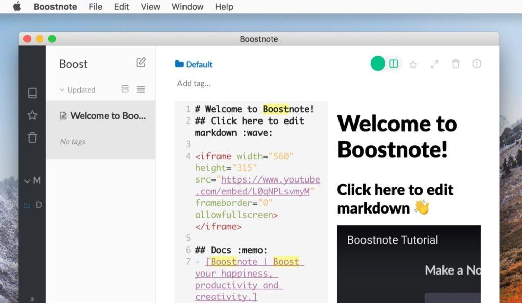 BoostnoteのHighlight