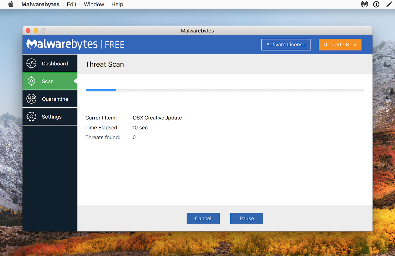 Malwarebytes for Mac will detect this malware as OSX.CreativeUpdater.