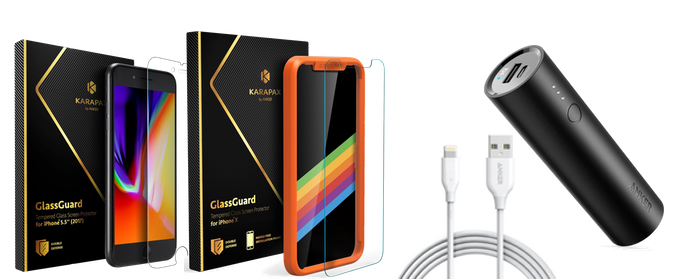 AmazonでAnkerのiPhone用アクセサリーやモバイルバッテリーなどがタイムセール中。
